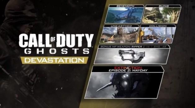 """CoD ゴースト:新武器「The Ripper」や""""DOME""""リメイクマップを含む新DLC、""""Devastation""""トレイラー公開"""
