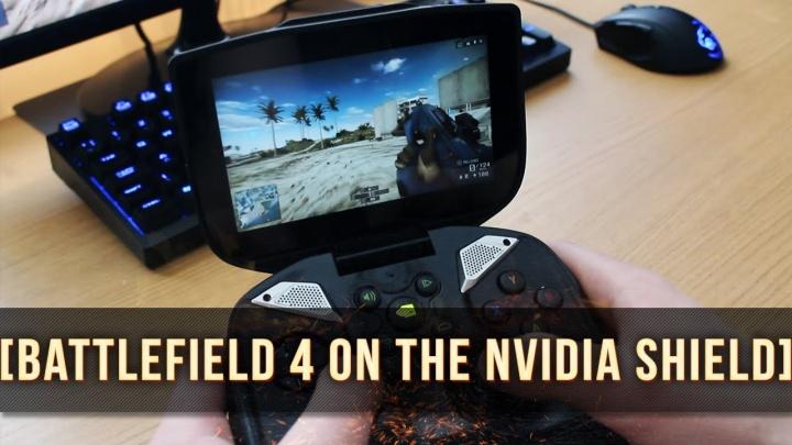 """Battlefield 4 : 携帯ゲーム機""""Nvidiaシールド""""でBF4をプレイする動画"""