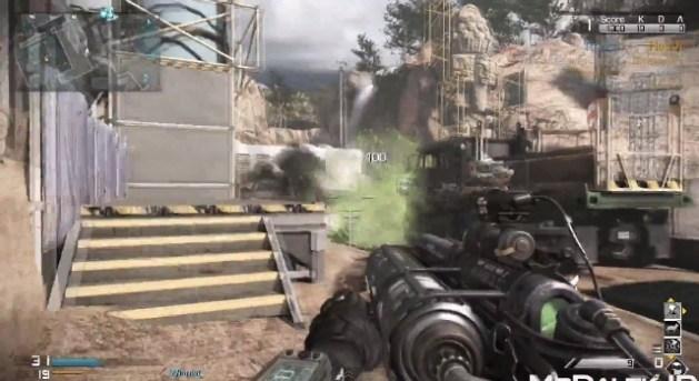 CoD ゴースト 新マップUnearthedでエイリアンモードに登場する武器の入手方法