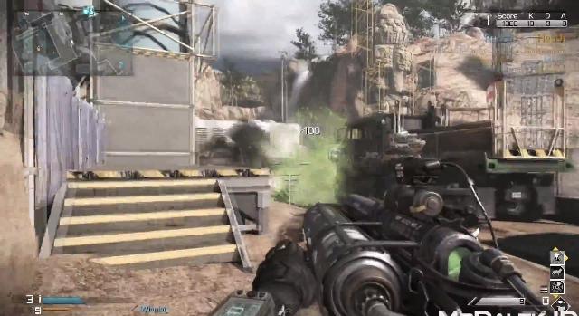 CoD: ゴースト : マルチでエイリアンモードの武器「Venom-X」を入手する方法
