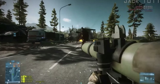 Battlefield 4 : 「Holy F*cking Shit」なシーン満載の爆笑動画が人気