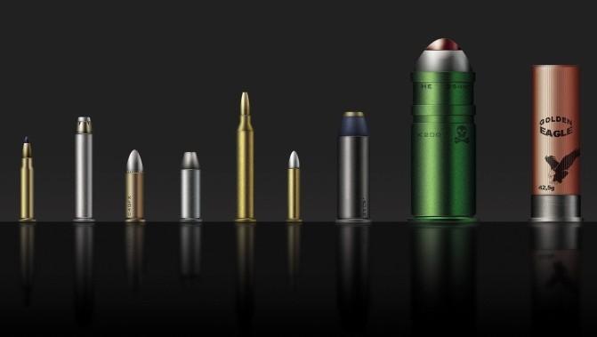 リアル:弾道ゼラチンで見る、様々な銃弾の破壊力