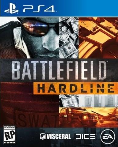 『Battlefield Hardline(バトルフィールド ハードライン)』ボックスアート