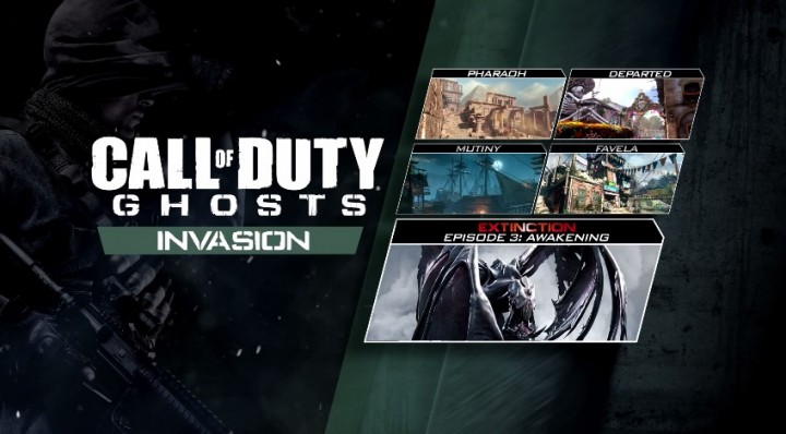 "CoD: ゴースト:第3弾DLC""Invasion""、PS3/PS4/PC版が日本国内で本日配信開始"