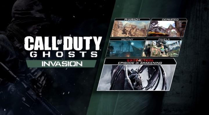 """CoD: ゴースト:第3弾DLC""""Invasion""""トレイラー公開、MW2のFavela復活やAC130風キルストリークも"""