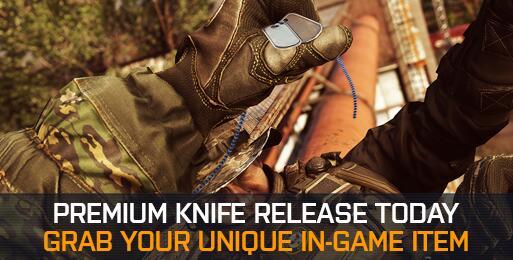 Battlefield 4 : 新プレミアムナイフが本日追加。『BF2142』のBJ-2コンバットナイフか