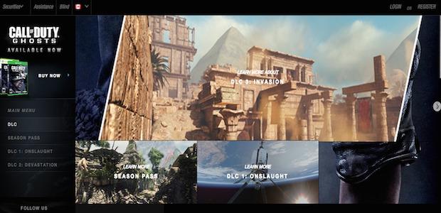 """CoD ゴースト:公式サイトにてDLC第3弾""""Invasion""""に含まれる新マップ3種のイメージ画像をちら見せ"""