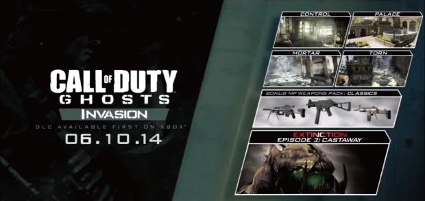 CoD: ゴースト:第3弾DLC「Invasion」の詳細がリーク?