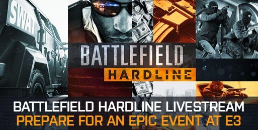 BFH  EA、E3で『バトルフィールド ハードライン』の32人マルチプレイをライブ放送。610 500より