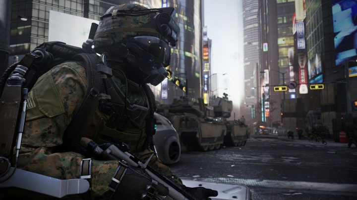 """CoD:AW:シングルキャンペーン""""Induction""""公式プレイ動画"""