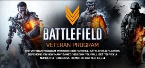 Battlefield 4 : 過去作をプレイしたユーザーに報酬を与える「ベテランプログラム」を実施か