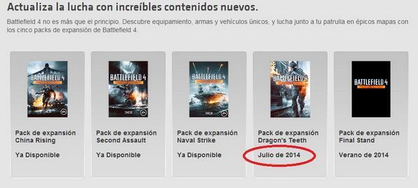 """Battlefield 4  第三弾拡張パック""""Dragon's Teeth""""は7月リリース確定スペイン"""