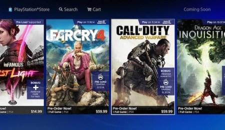 PS4:先行ダウンロード対象タイトル発表、『CoDAW』は10月30日からダウンロード可能