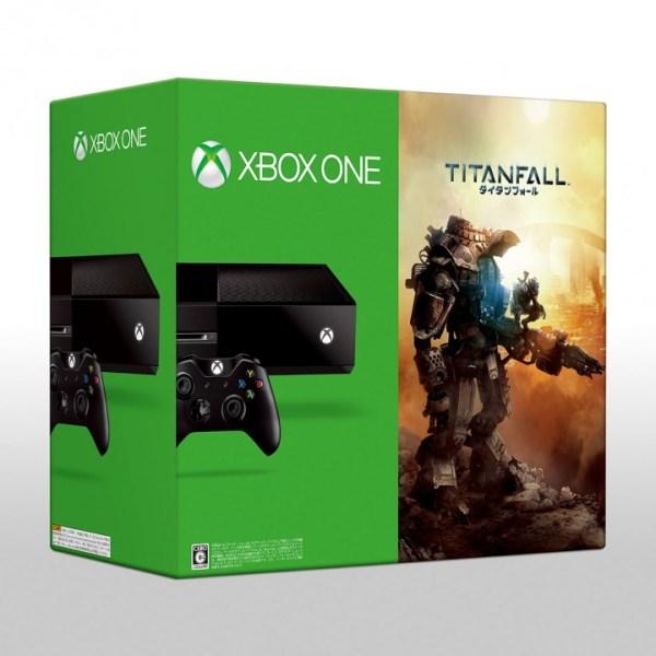 タイタンフォール同梱の数量限定Xbox One 、9月4日発売