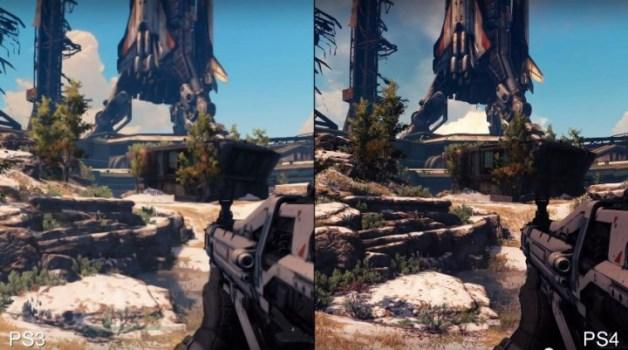 デスティニー:PS4 vs PS3 比較動画