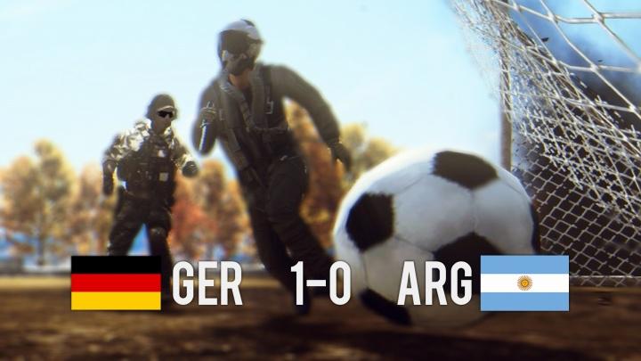 Battlefield 4 : BFでサッカーが遊べる!?「FIFA ワールドカップ2014」のイースターエッグ発見(Reddit情報)