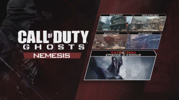 """CoD:ゴースト : 第4弾DLC """"Nemesis""""の配信日が9月4日に決定(PS4,PS3,PC)"""