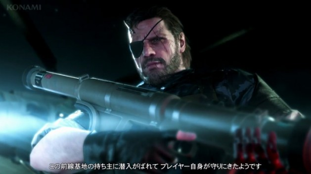 MGSVTPP:日本語字幕版ゲームプレイが公開(約22分)
