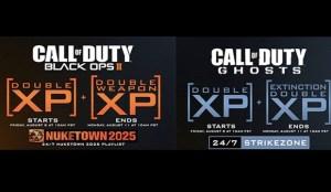 『CoD:ゴースト』 & 『BO2』:各種ダブルXPと24/7プレイリストが同時解禁!8月9日から