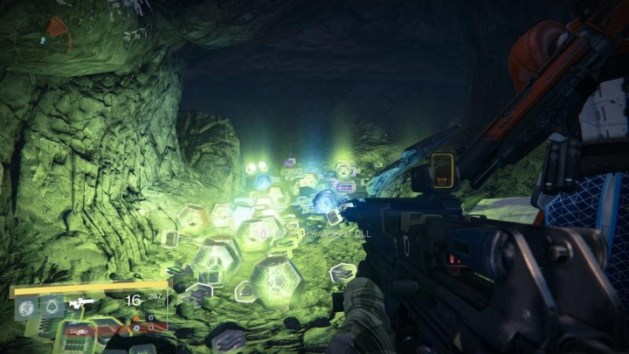 Destiny:レベル上げとレジェンダリー装備集めに最適のポイント