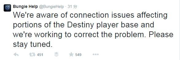 『Destiny(デスティニー)』ダウン