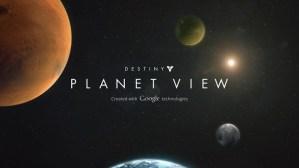 『Destiny』の世界を徒歩で探索できる惑星ツアー - Googleストリートビューを利用