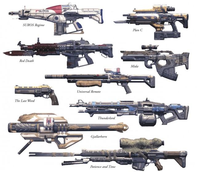 Destiny (デスティニー) エキゾチック武器一覧