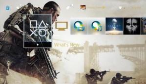 CoDAW:PS4へ無料の『CoDAW』テーマが配信中