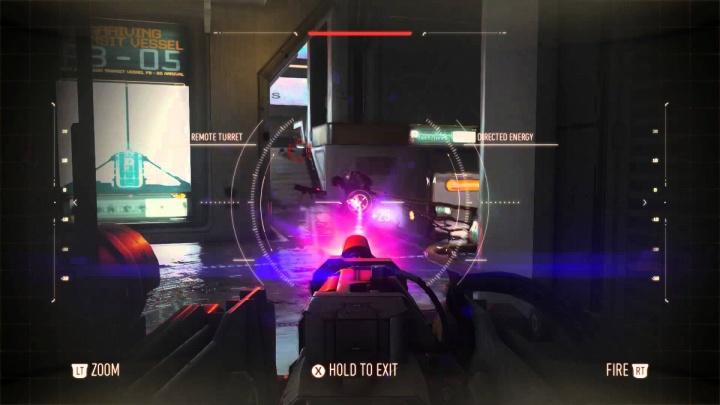 CoD:AW:スコアストリーク「リモートタレット」の公式動画2本。レーザー照射や取り外しなど