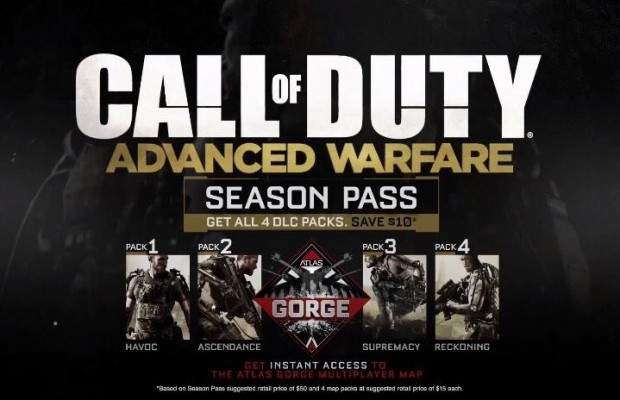 CoD:AW:シーズンパストレイラー公開!Atlas Gorgeの全貌や各DLCの名称が判明