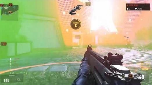 『Call of Duty: Advanced Warfare(コール オブ デューティ アドバンスド・ウォーフェア)』 DNA Bombの緑の霧