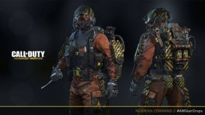 『Call of Duty: Advanced Warfare(コール オブ デューティ アドバンスド・ウォーフェア)』:新エリート装備「Elite Nigerian Commander」はプレイヤー全員に無料で配布