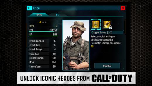 Call of Duty: Heroes (コールオブデューティー: ヒーローズ)』キャラクター