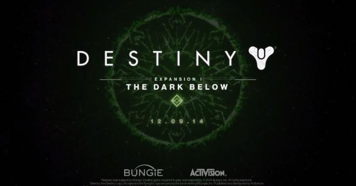 Destiny:「地下の暗黒」公式プレビュー動画公開