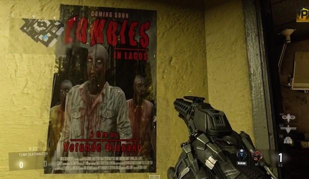 CoD:AW:マップ「Comeback」でゾンビのポスター発見!ゾンビモードのヒントか