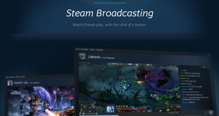 Steamにゲームライブ配信機能が追加、Twitch不要に