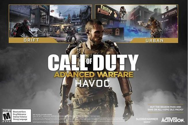 "CoD:AW:第一弾DLC ""Havoc""、PS4/PS3/PC版の配信日が2月27日に確定"