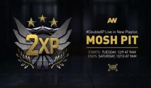 CoD:AW:モッシュピットのプレイリストでダブルXP実施中