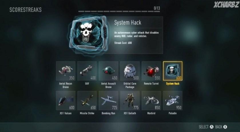 cod-aw Systemhackシステムハック