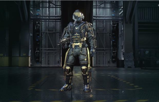 『Call of Duty: Advanced Warfare(コール オブ デューティ アドバンスド・ウォーフェア)』Gold Centurion 装備セット
