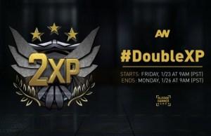 """CoD:AW:ダブルXPが1/24-27開催、マップ""""Comeback """"のみの247プレイリストも期間限定で追加"""