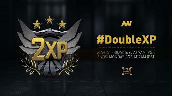 CoD:AW:ダブルXPが全プラットフォームで開催中、24日午前2時まで