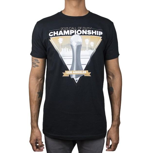 2015 Call of Duty Championship Tシャツ