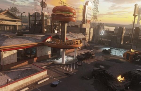 cod-aw-DLC-2-Exo Zombies map-Burgertown