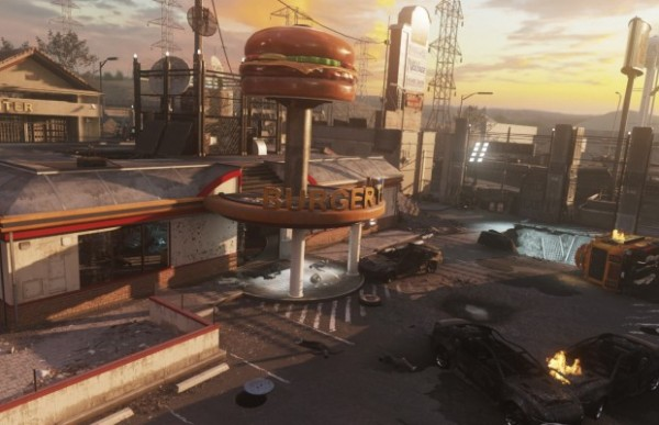 cod-aw-DLC-2-Exo Zombies map-Burgertown