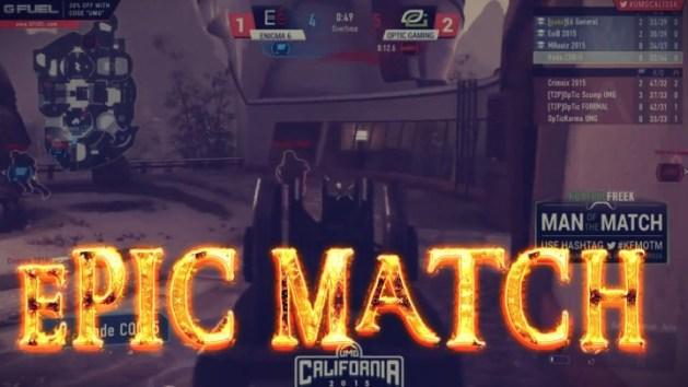 CoDAW:Redditで話題の「プロプレイヤーによる史上最高のCTFマッチ」、OpTic Gaming vs Enigma 6