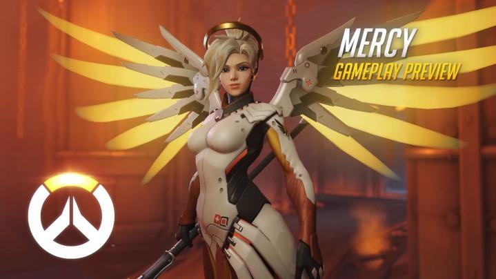 Overwatch:女神のようなヒーローMercyと、面妖なZenyattaのプレイプレビュー