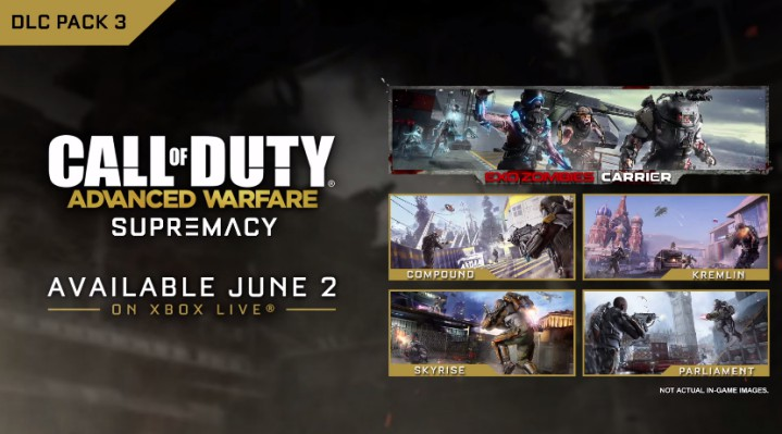 "CoD:AW:第三弾DLC""Supremacy"" 公式トレイラー公開、『MW2』リメイクマップ登場"