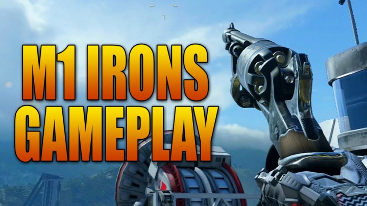 """CoD:AW:リボルバー!新武器""""M1 Irons """"プレイ動画"""