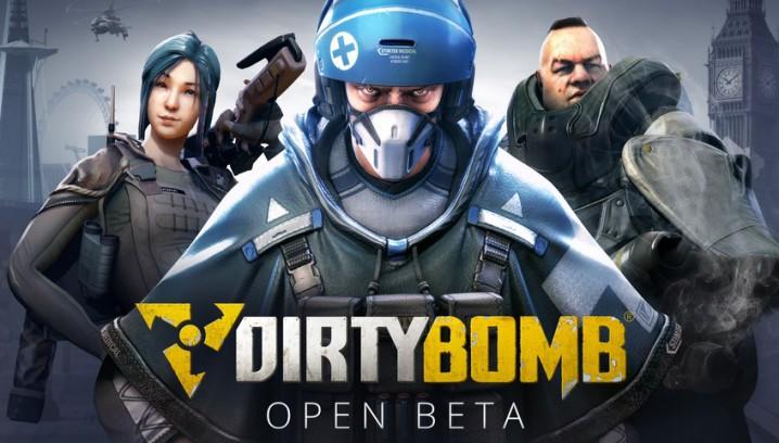 無料:新作FPS『Dirty Bomb』のオープンベータ開始(Steam)